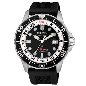 Citizen Promaster Diver's Eco Drive GMT Super Titanio  BJ7110-11E