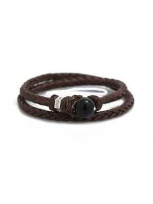 Scoubidou Bracelets Brown
