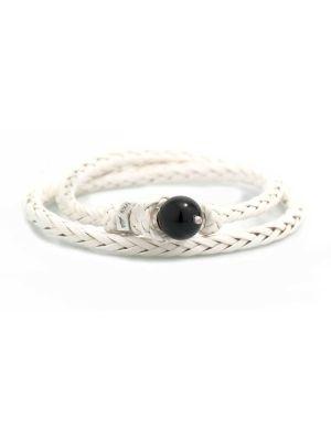 Scoubidou Bracelets White