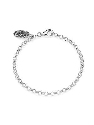 Rolo Mini Bracelet in Sterling Silver
