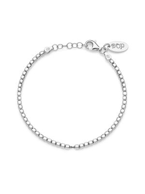 Mens Cubetti Bracelet in Sterling Silver