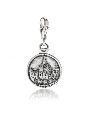 Brunelleschis Dome in Florence Charm in Sterling Silver