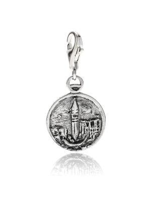 Venetian Lagoon Charm in Sterling Silver