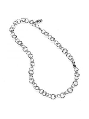 Rolo Luxury Necklace 50 cm in Sterling Silver