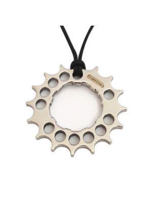 Ciondolo corona dentata bicicletta