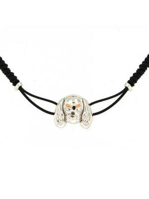 White gold 18kt Cavalier bracelet