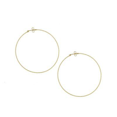 orecchini oro bianco