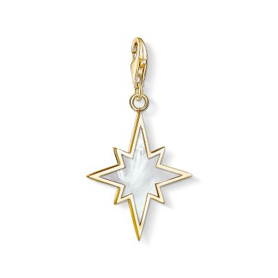 Charm Pendant Star Mother-Of-Pearl