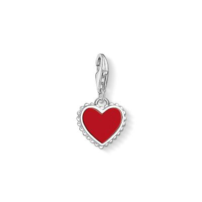 Charm Pendant Red Heart