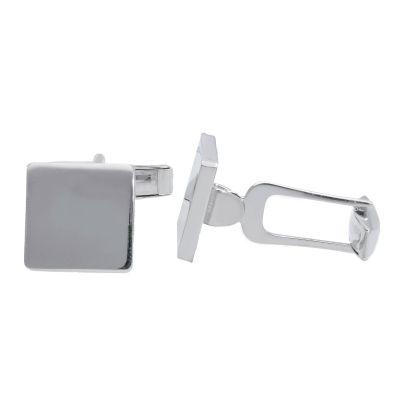 Maiocchi Silver Gemelli Quadrati Argento