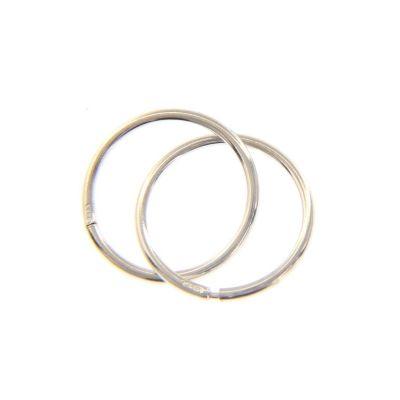 Maiocchi Silver Orecchini a Cerchio 22 mm Argento