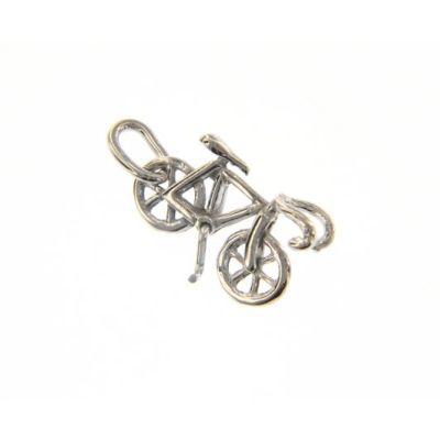 Maiocchi Silver Ciondolo Bicicletta Argento