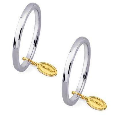 unoaerre comode mm.2,4 oro bianco