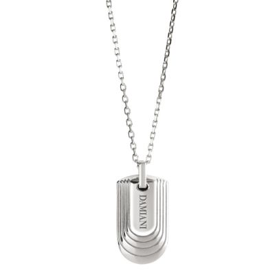 Damiani Collana JustMan in Argento