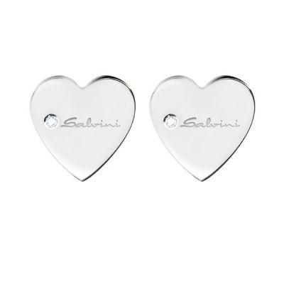 Salvini orecchini Minimal Cuore