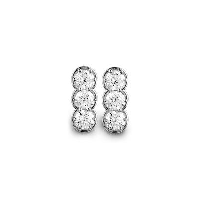 Orecchini in oro bianco e diamanti 0,96 carati