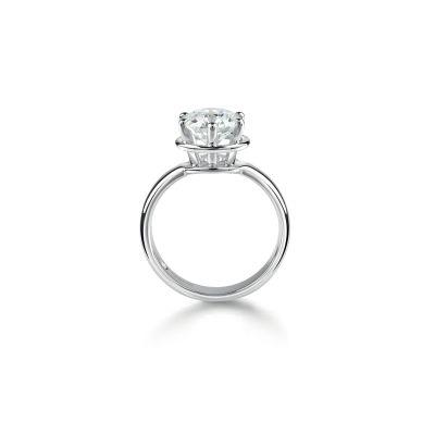 Anello di fidanzamento in Platinum 0,26 carati, colore G, purezza VS