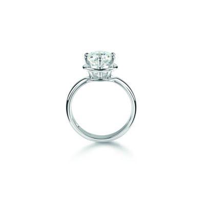 Anello di fidanzamento in Platinum 0,26 carati, colore H, purezza VS