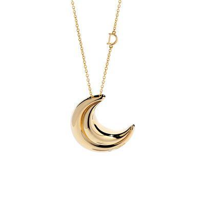 Damiani Collana Spicchi Di Luna in Oro Giallo