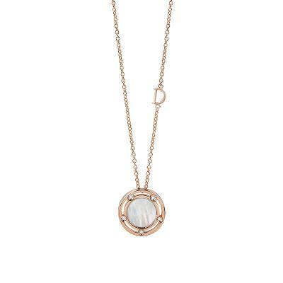 Damiani Collana D.Side in Oro Rosa Madreperla e Diamanti