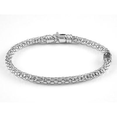 bracciale argento 925 e diamante