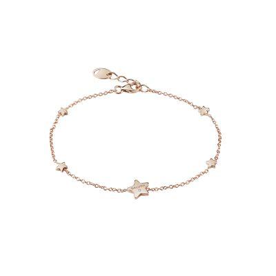 Salvini Bracciale I Segni Stella Oro Rosa 9kt e Diamante