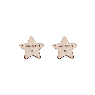 Salvini orecchini I Segni 9kt Stella Oro Rosa