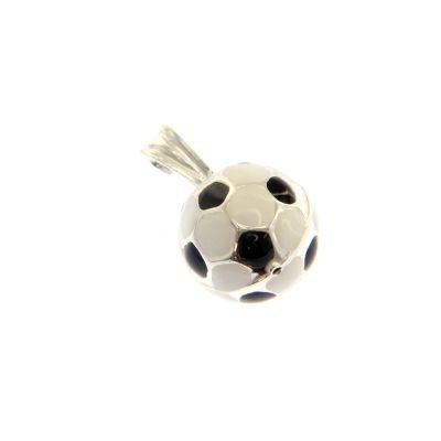 Maiocchi Silver Ciondolo Pallone Calcio Argento