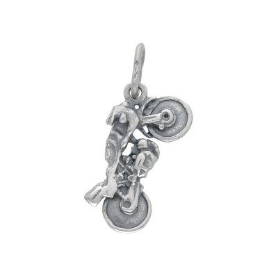 Maiocchi Silver Ciondolo Moto Argento