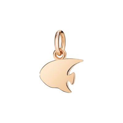 Dodo Charm Pesce Angelo Oro Rosa 9kt