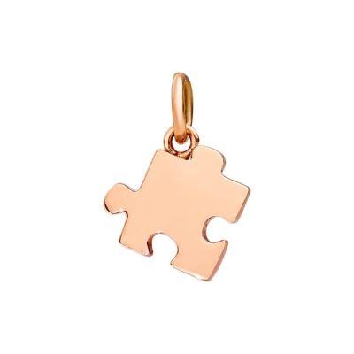 Dodo Charm Puzzle Oro Rosa 9kt Sinistro