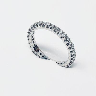 Giorgio Visconti Anello Fedina Diamanti AB0682 ct 0,35