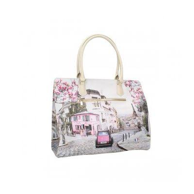Borsa Shopper YNOT YES-573S1 PARIS CHARLESTON