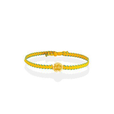 Bracciale Zodiaco Leone oro giallo