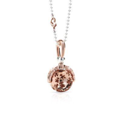 Ciondolo Sonaglino argento placcato oro rosa