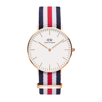 Daniel Wellington Classic Canterbury 36 Rose Gold