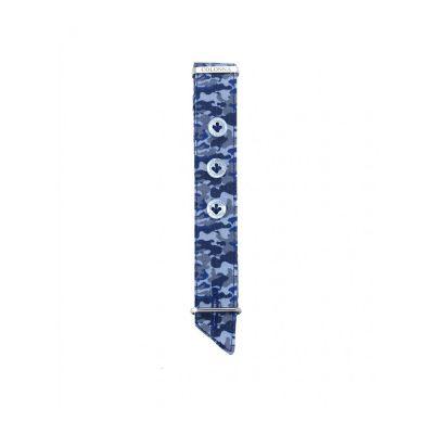 Colonna Polsino uomo camouflage blu