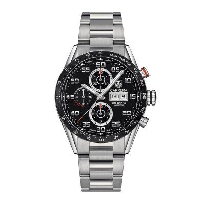 Cronografo Uomo TAG Heuer Carrera Calibre 16 automatico Nero Acciaio