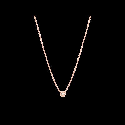 Dodo Choker Bollicine Oro Rosa e Diamante