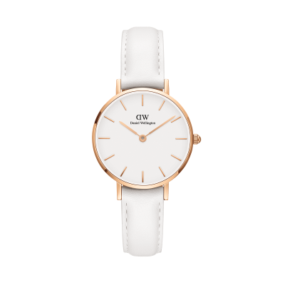 Daniel Wellington Petite Bondi 28 Rose Gold White