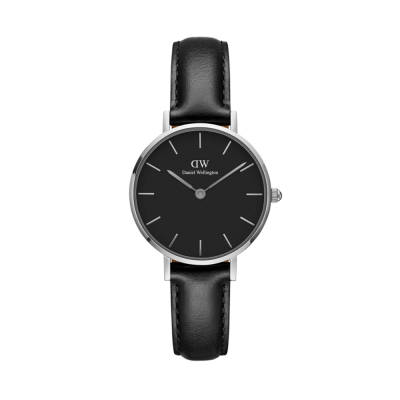 Daniel Wellington Petite Sheffield 28 Silver Black