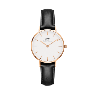 Daniel Wellington Petite Sheffield 28 Rose Gold White