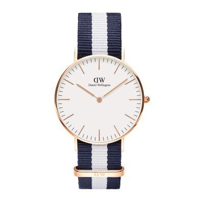 Daniel Wellington Classic Glasgow 36 Rose Gold
