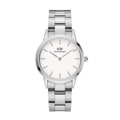 Daniel Wellington Iconic Link Silver White 32