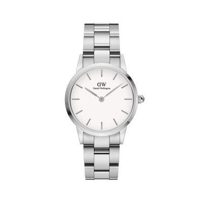 Daniel Wellington Iconic Link Silver White 28
