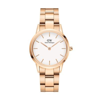 Daniel Wellington Iconic Link Rose Gold White 32