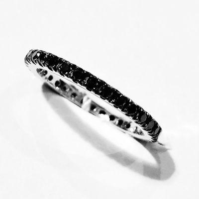 anello Fedina Diamanti Black ct 1,00