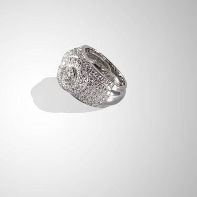 Anello Fascia di diamanti