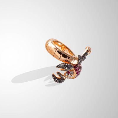 Anello a Scorpione Prezioso