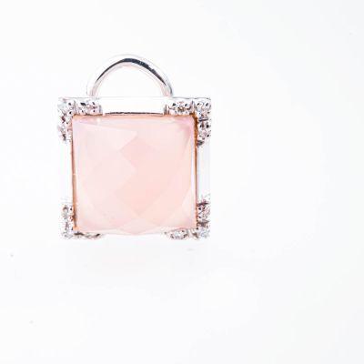 Orecchini Quadrati Brillhini Punto Cristallo